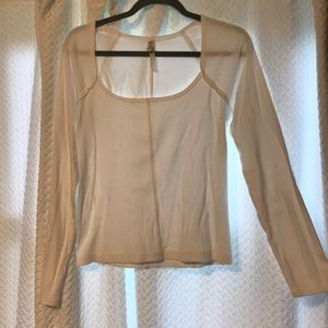 Free people square neck top